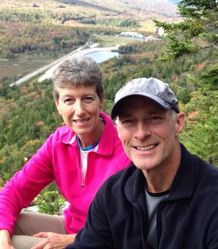 John & Susan in Mountains