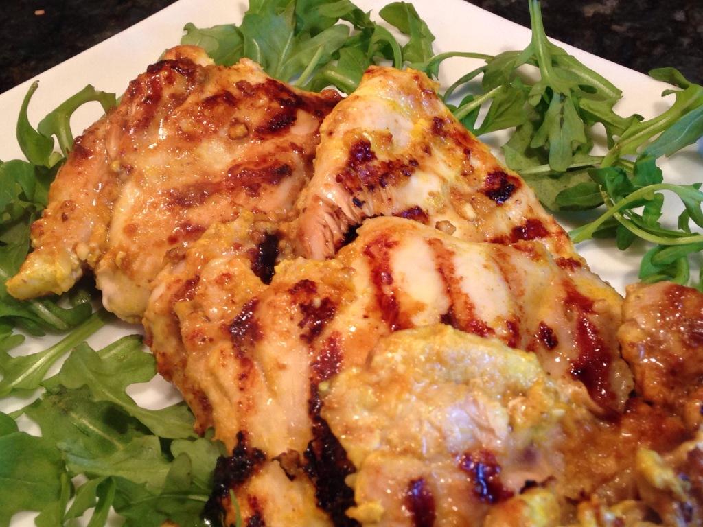 Grilled Tandoori Chicken Thighs John T Fitness